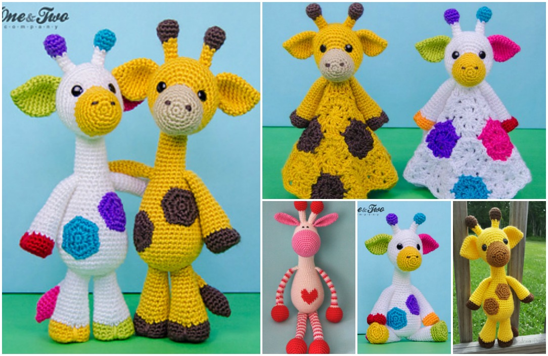 Ravelry: Baby Giraffe Amigurumi pattern by Courtney Deley | 703x1084