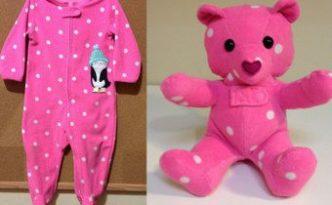 DIY Keepsake Memory Teddy Bear from Outgrown Baby Clothes