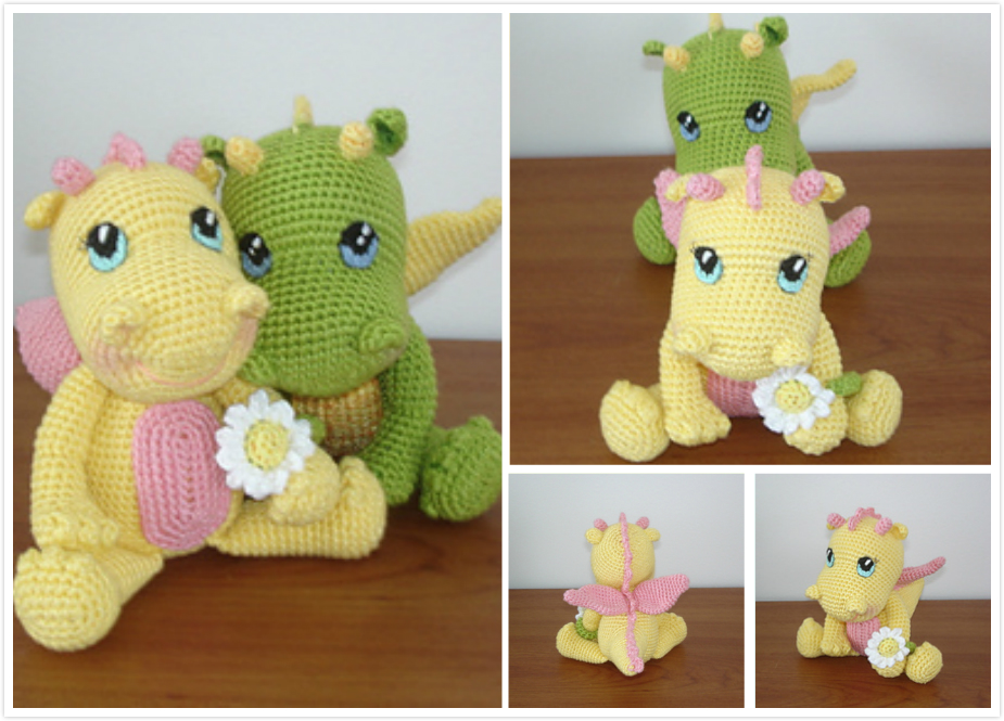 Free Pattern - Crochet Baby Dragon