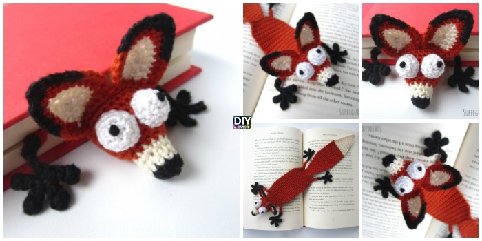 Crochet Amigurumi Fox Bookmark Pattern