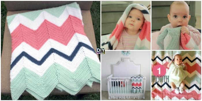 Crochet Chevron Baby Blanket – Free Pattern