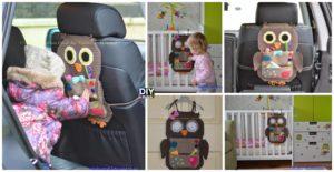 Crochet Owl Treasure Organizer Pattern