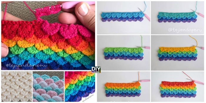 Crochet Sequins Stitch – Free Pattern & Video