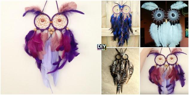 DIY Owl Dream Catchers – Video Tutorial
