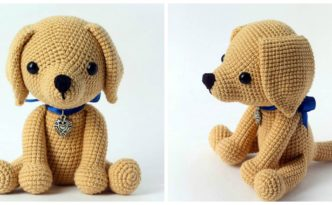 diy4ever- Crochet Lucky Puppy - Free Pattern