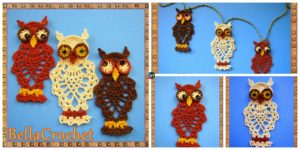 diy4ever- Crochet Pineapple Owl - Free Pattern