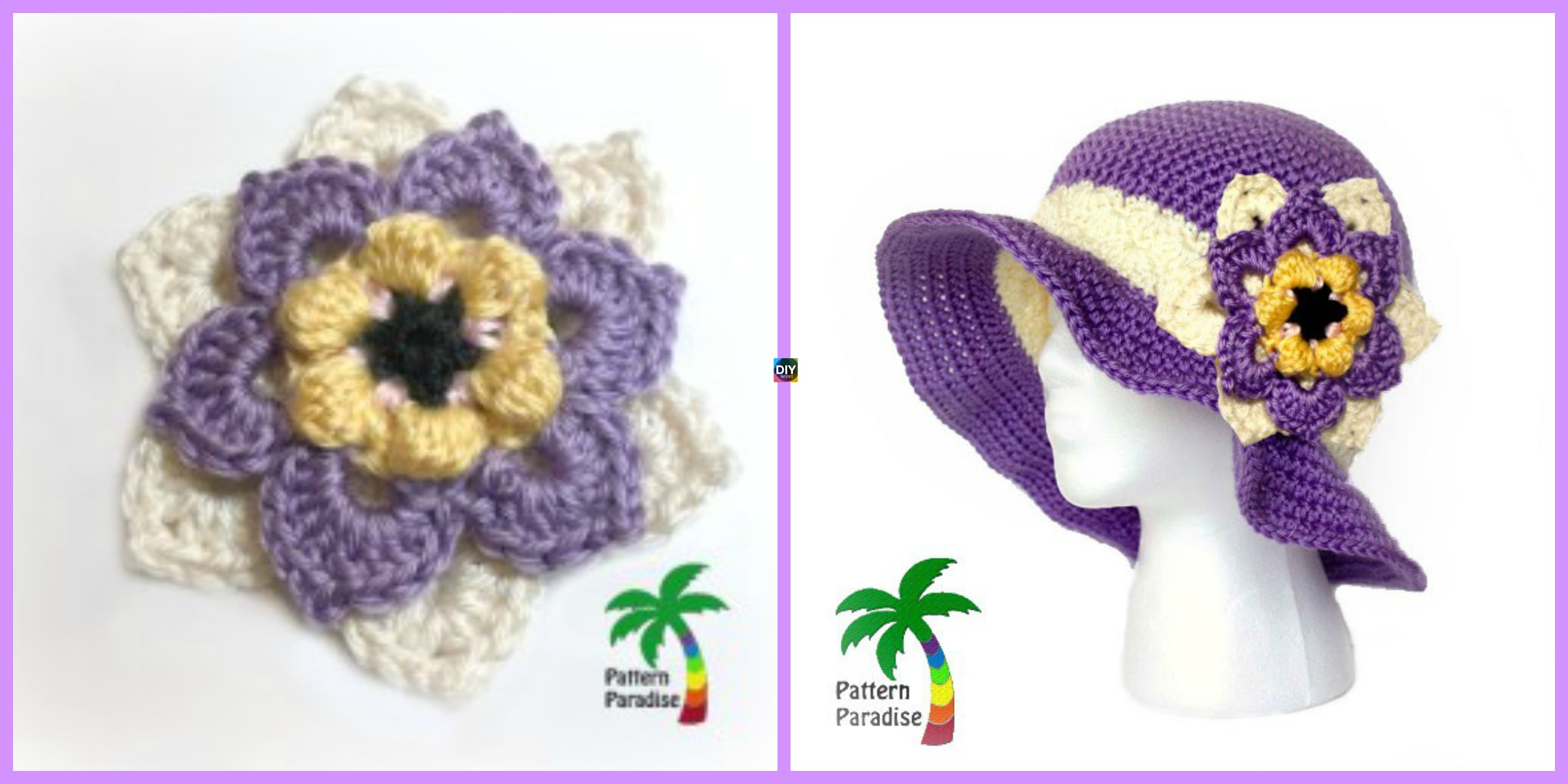 Crochet  Summer Joy Sun Hat – Free Pattern