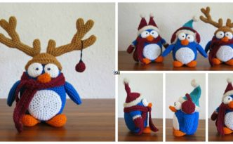diy4ever- Crochet Winter Penguin - Free Pattern