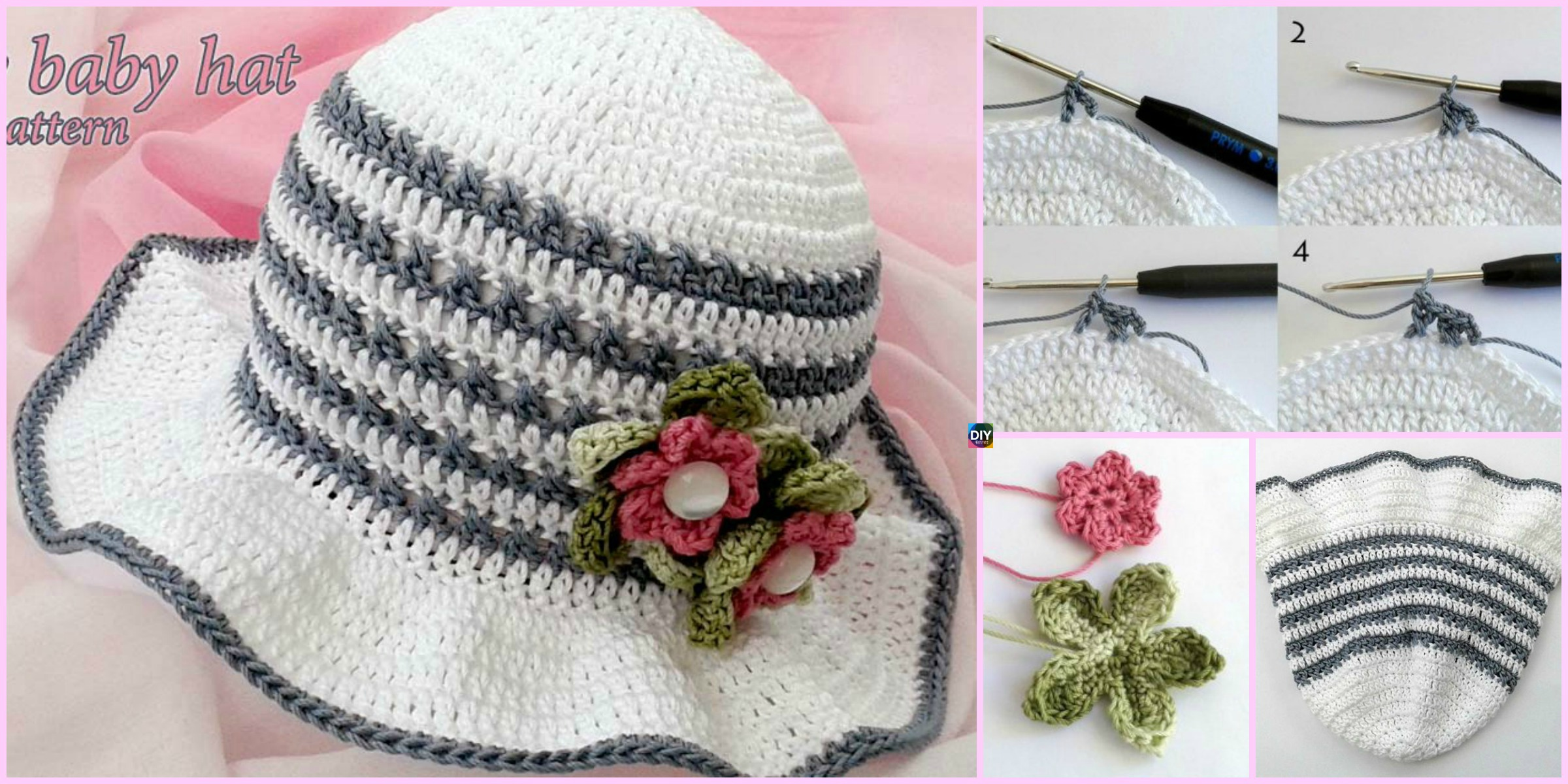 Fancy Crochet Baby Hat – Free Pattern