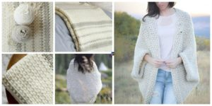 diy4ever- Woven Look Crochet Blanket - Free Patern
