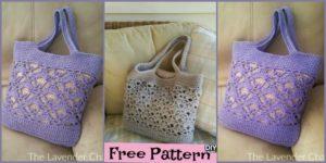 DIY4ever- Crochet Tote Bags - Free Pattern