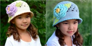 diy4ever-Adorable Crochet Sun Hat Pattern