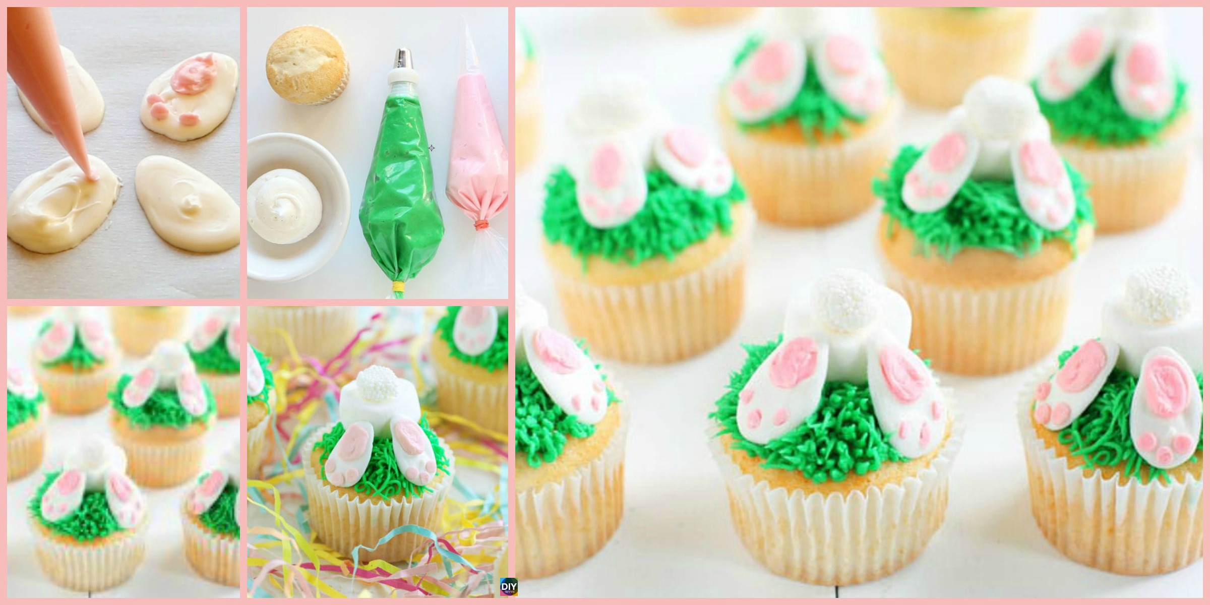 Adorable DIY Bunny Butt Cupcakes Recipe