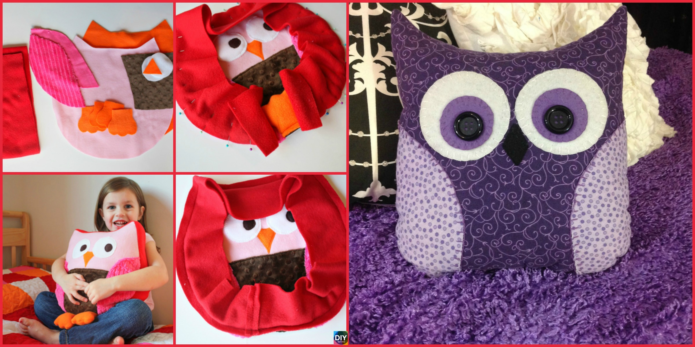 Adorable DIY Owl Pillow – Step by Step Tutorial