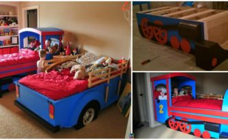 diy4ever- Amazing DIY Train Bed - Step by Step Tutorial