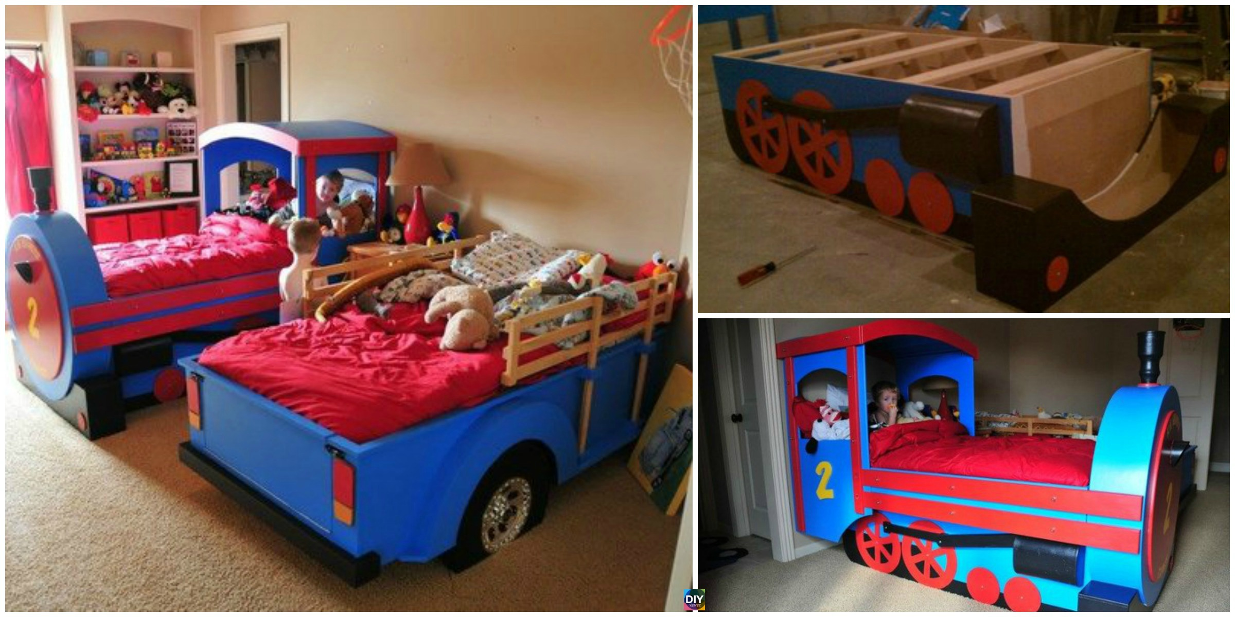 Amazing DIY Train Bed – Step by Step Tutorial