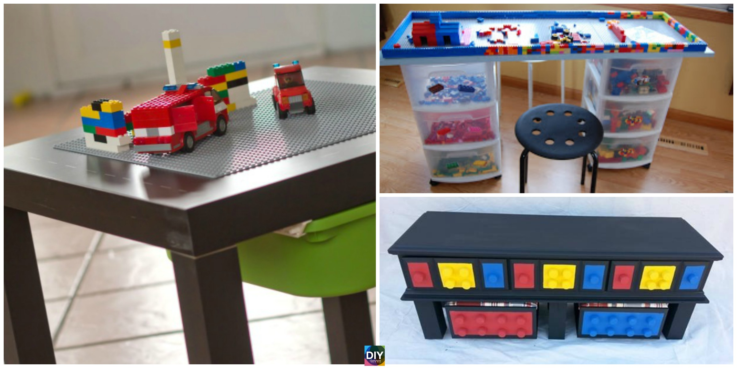 Creative Diy Lego Table Ideas Tutorials Diy 4 Ever