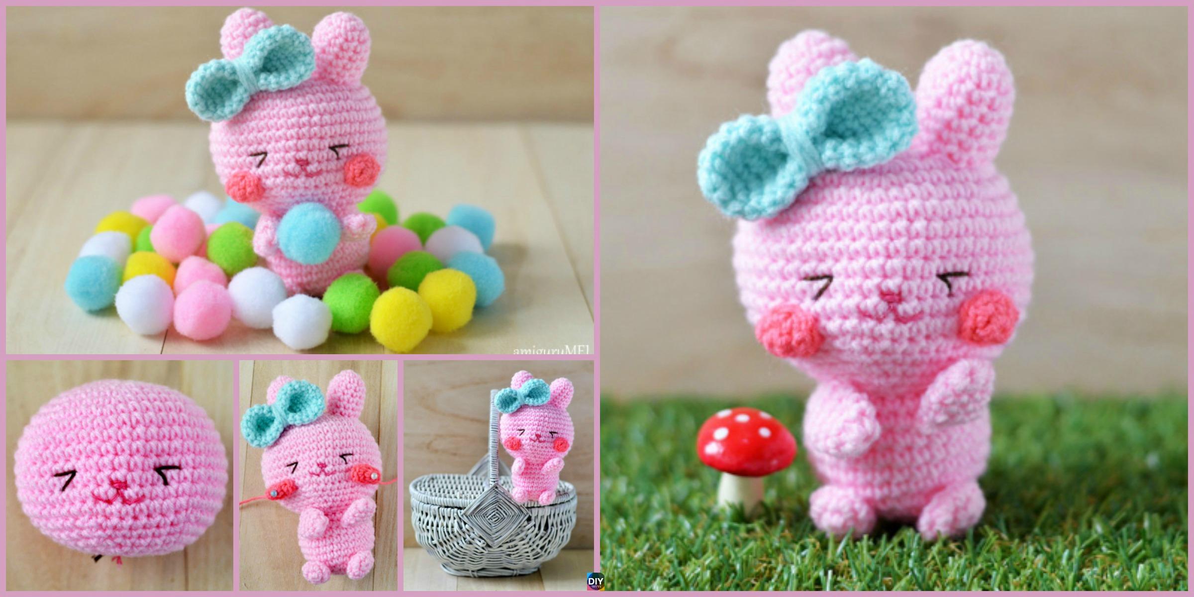 Crochet Easter Bunny Amigurumi – Free Pattern