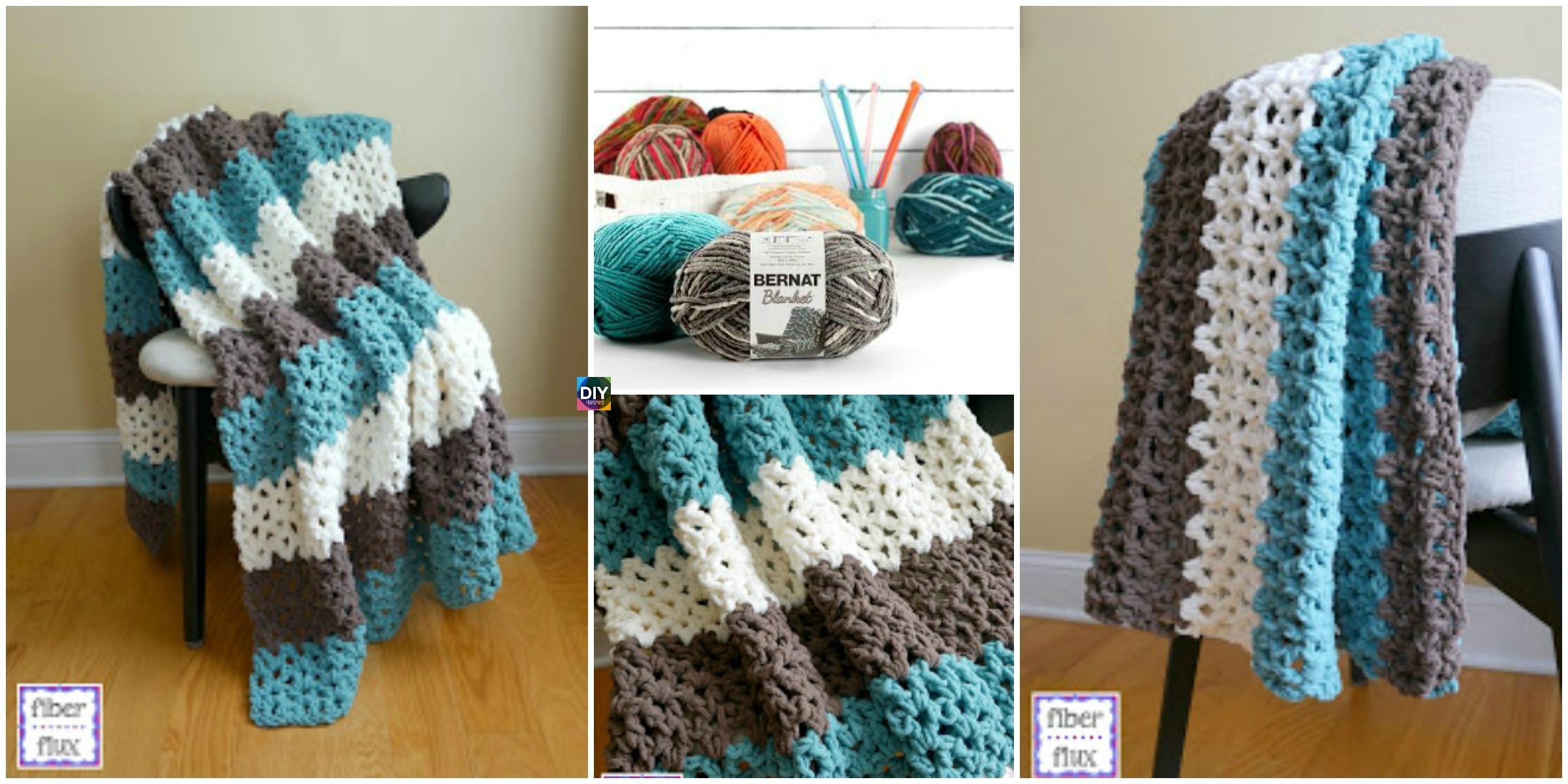 Crochet Family Room Throw – Free Pattern