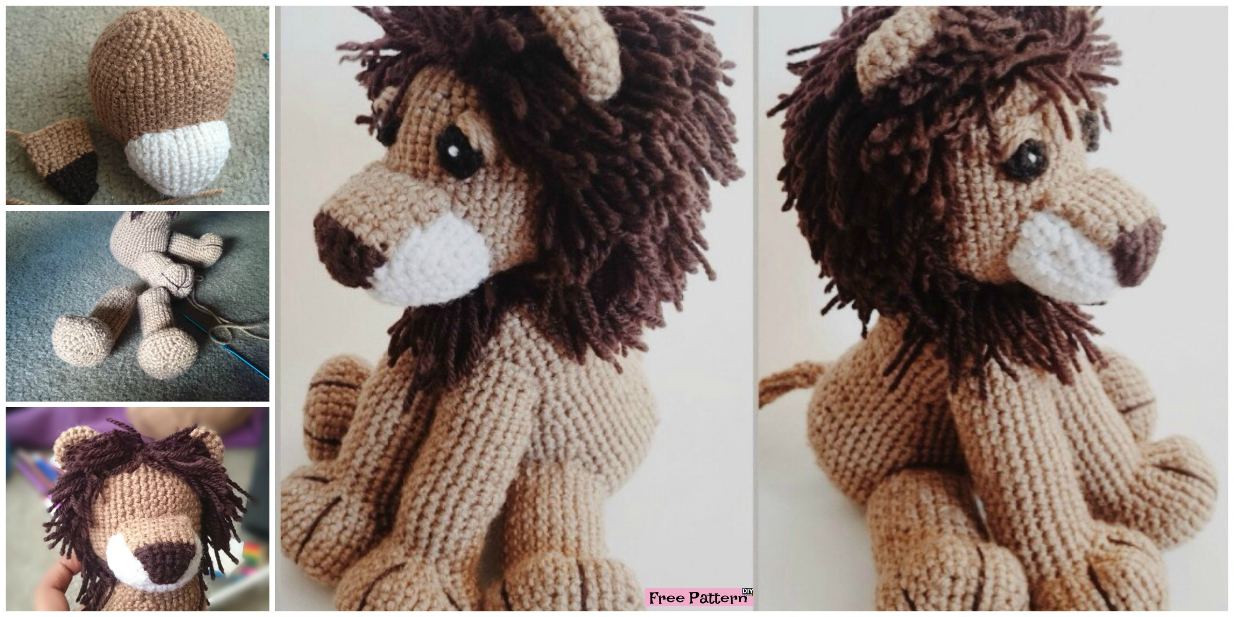 Lion King Crochet Pattern-CGCT-106588 | 1200x2400