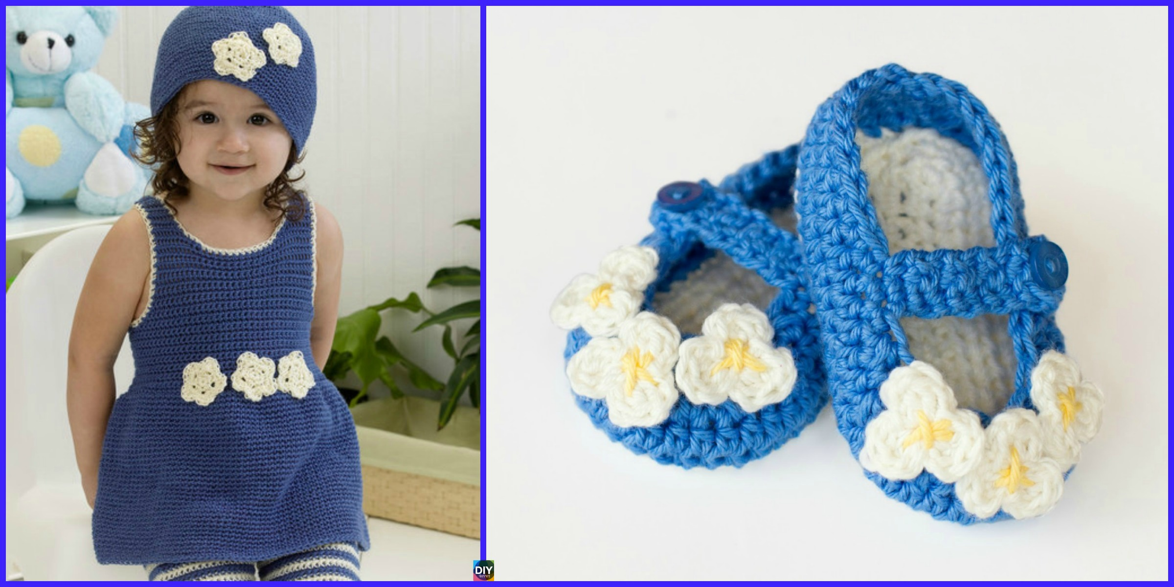 Crochet Mary Jane Baby Booties- Free Pattern