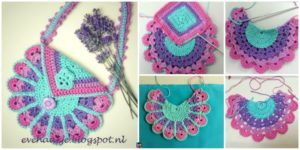 diy4ever- Crochet Peacock Bag - Free Pattern
