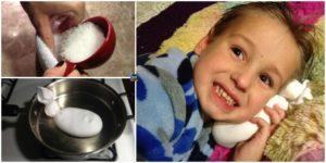 diy4ever-DIY Magic Salt Sock for Ear Infection Relief