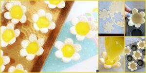 diy4ever-DIY Mini Lemon Flower Tarts Recipe