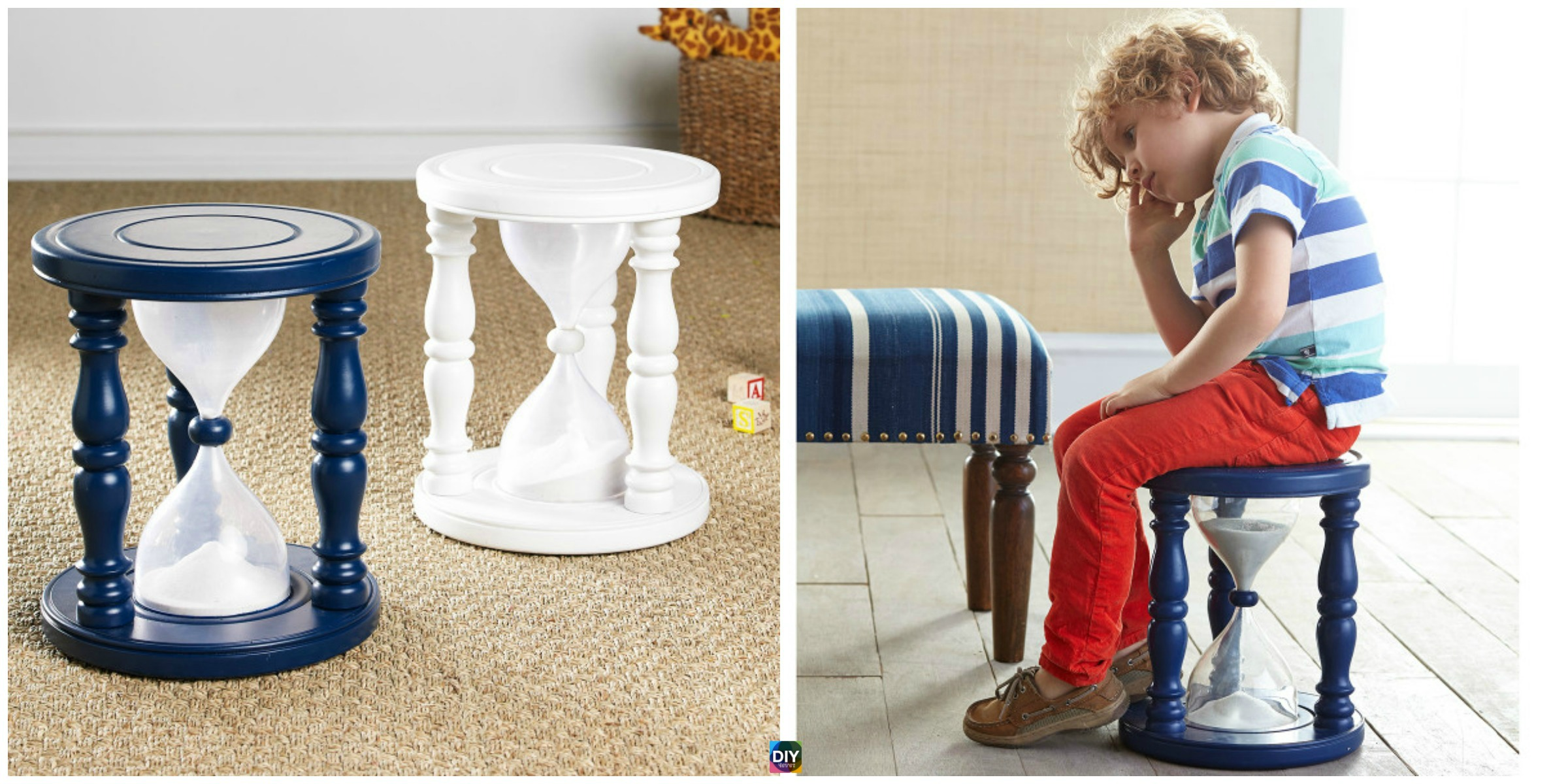 DIY Sand Filled Time Out Chair Tutorial