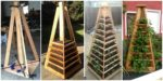 diy4ever- DIY Vertical Garden Pyramid Tower
