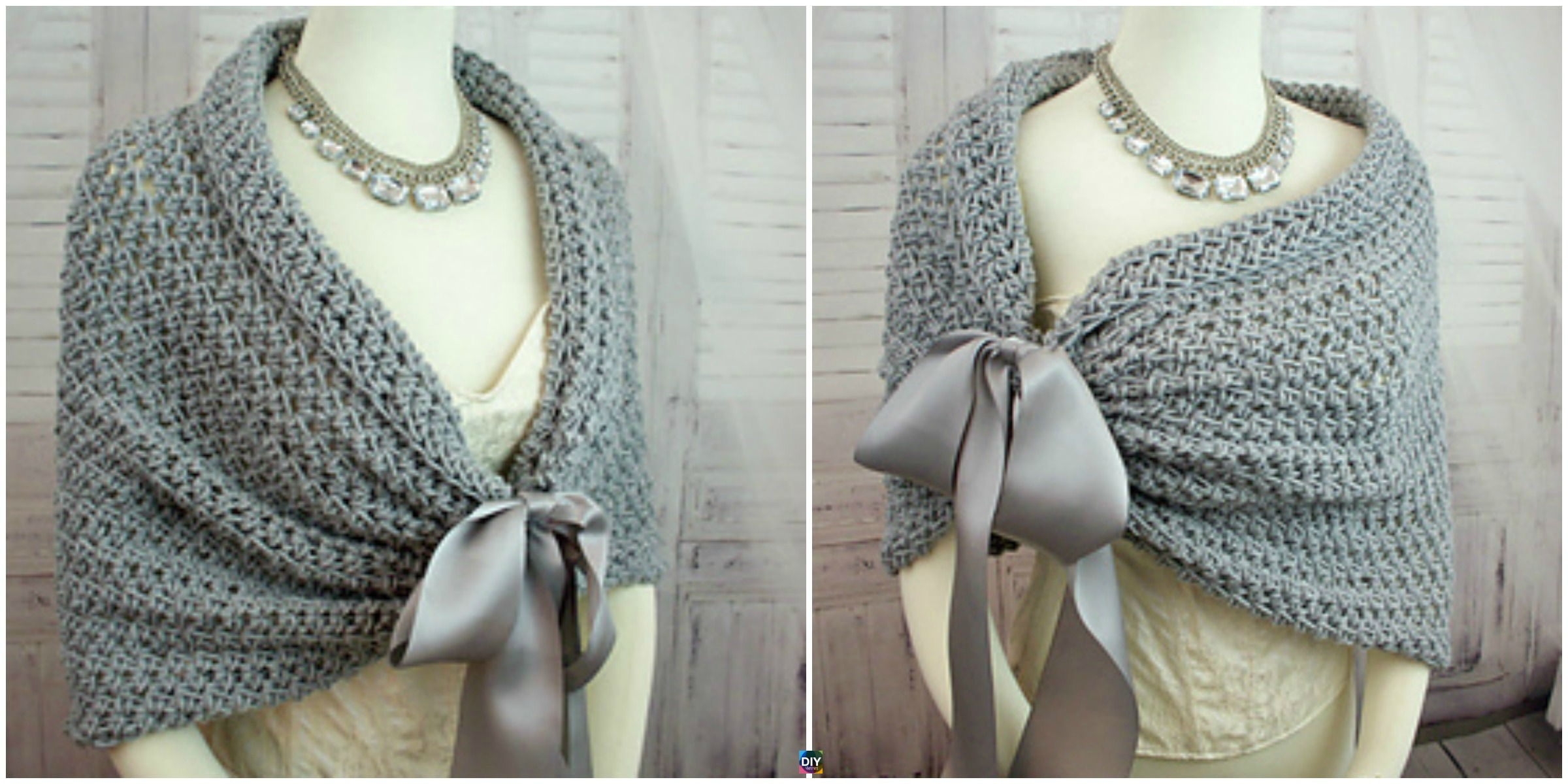Perfect Crochet Wedding Wrap Pattern