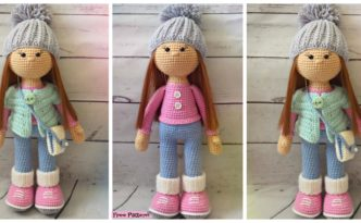 DIY4EVER- Adorable Crochet Molly Doll - Free Pattern