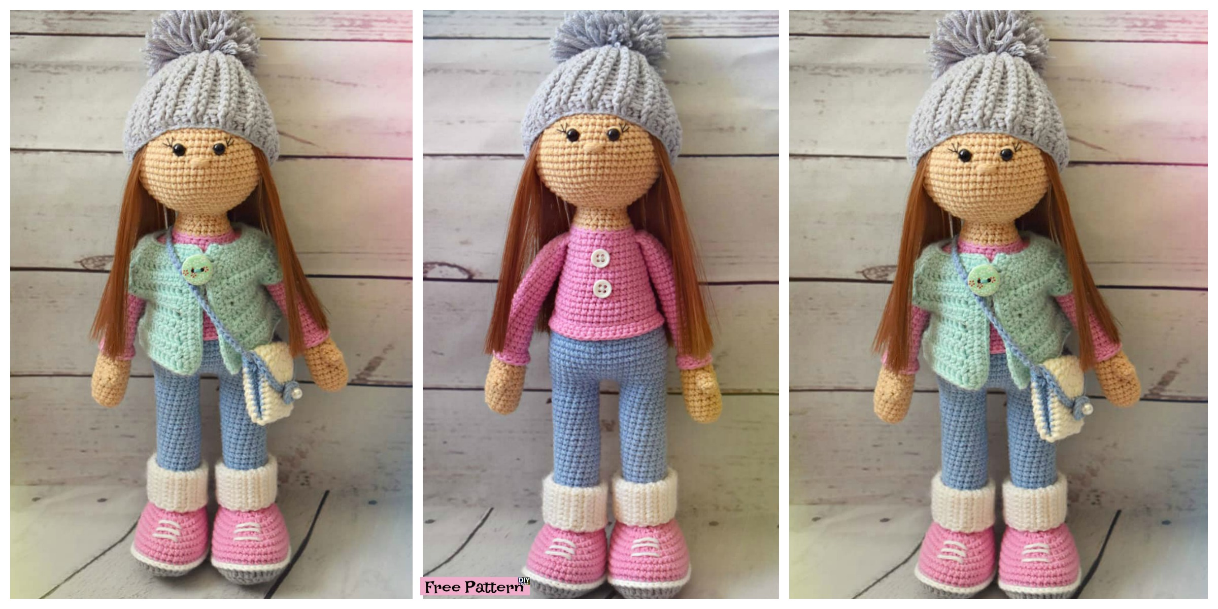 Adorable Crochet Molly Doll – Free Pattern