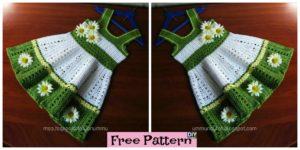 DIY4ever- Pretty Crochet Toddler Dress - Free Pattern