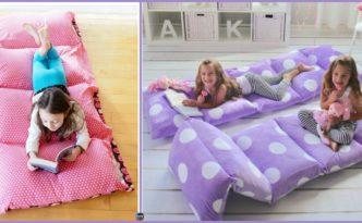 diy4ever- Cozy DIY Pillow Bed - Very Easy Tutorial