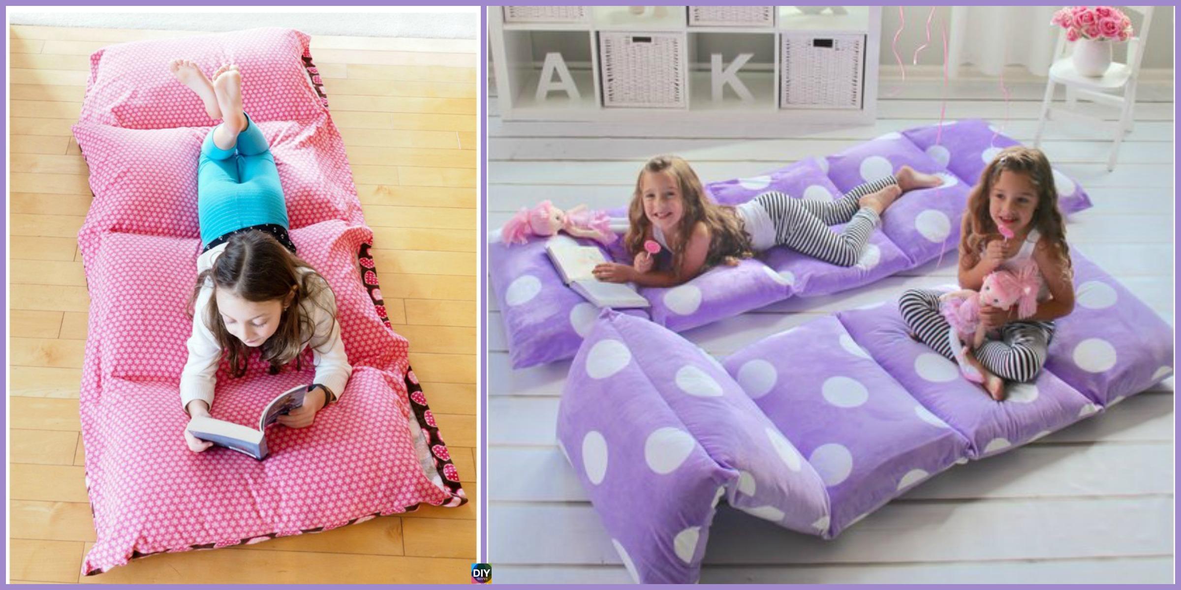 Cozy DIY Pillow Bed – Very Easy Tutorial