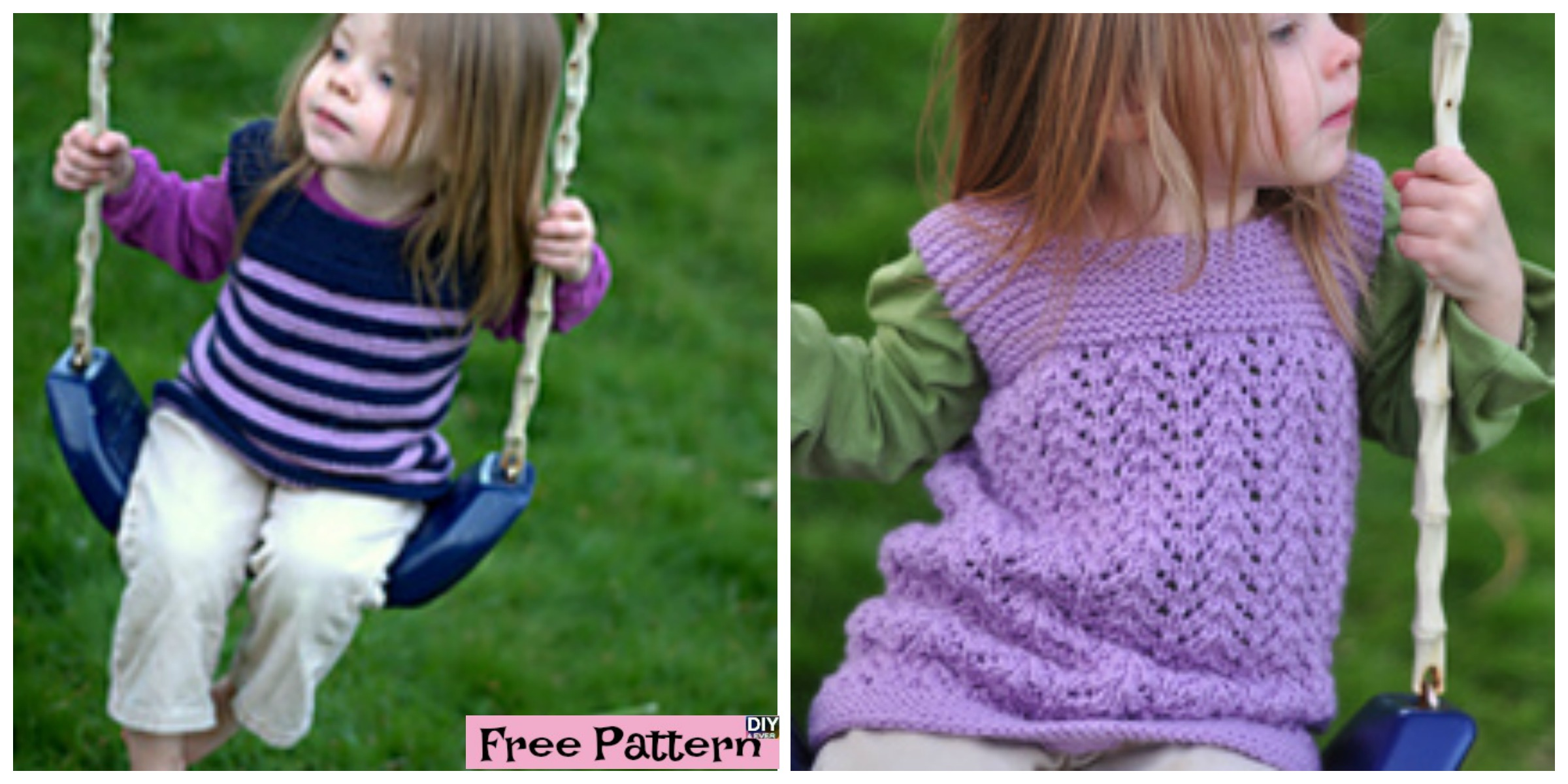 Cozy Knitted Toddler Tunic – Free Pattern