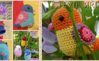 diy4ever- Crochet Bird Amigurumi - Free Pattern
