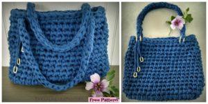 diy4ever- Crochet Island Breeze Bag - Free Pattern