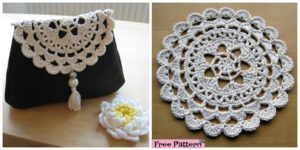 diy4ever-Crochet Passion Flower Doily - Free Pattern