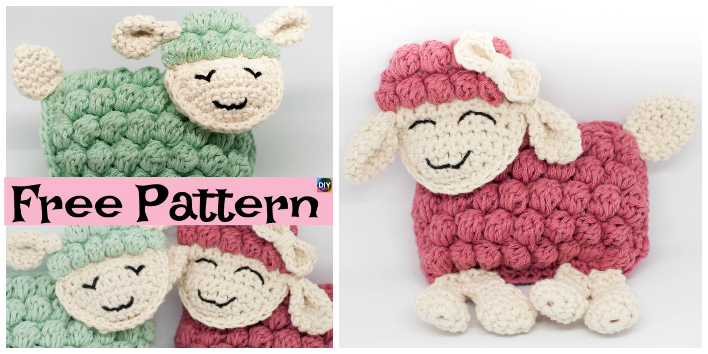 Cute Crocheted Ragdoll – Free Pattern