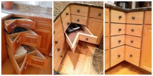 diy4ever- DIY Cabinet Drawer Tutorial - For Corner