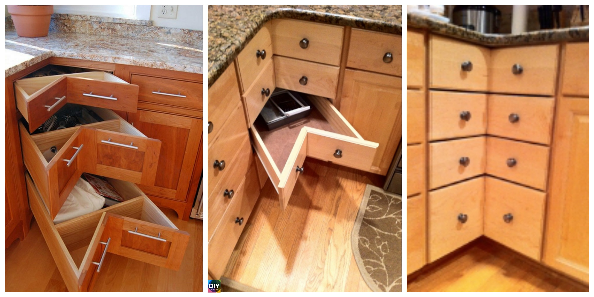 DIY Cabinet Drawer Tutorial – For Corner
