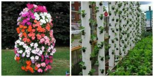 diy4ever- DIY Vertical Planter - Step by Step Tutorial