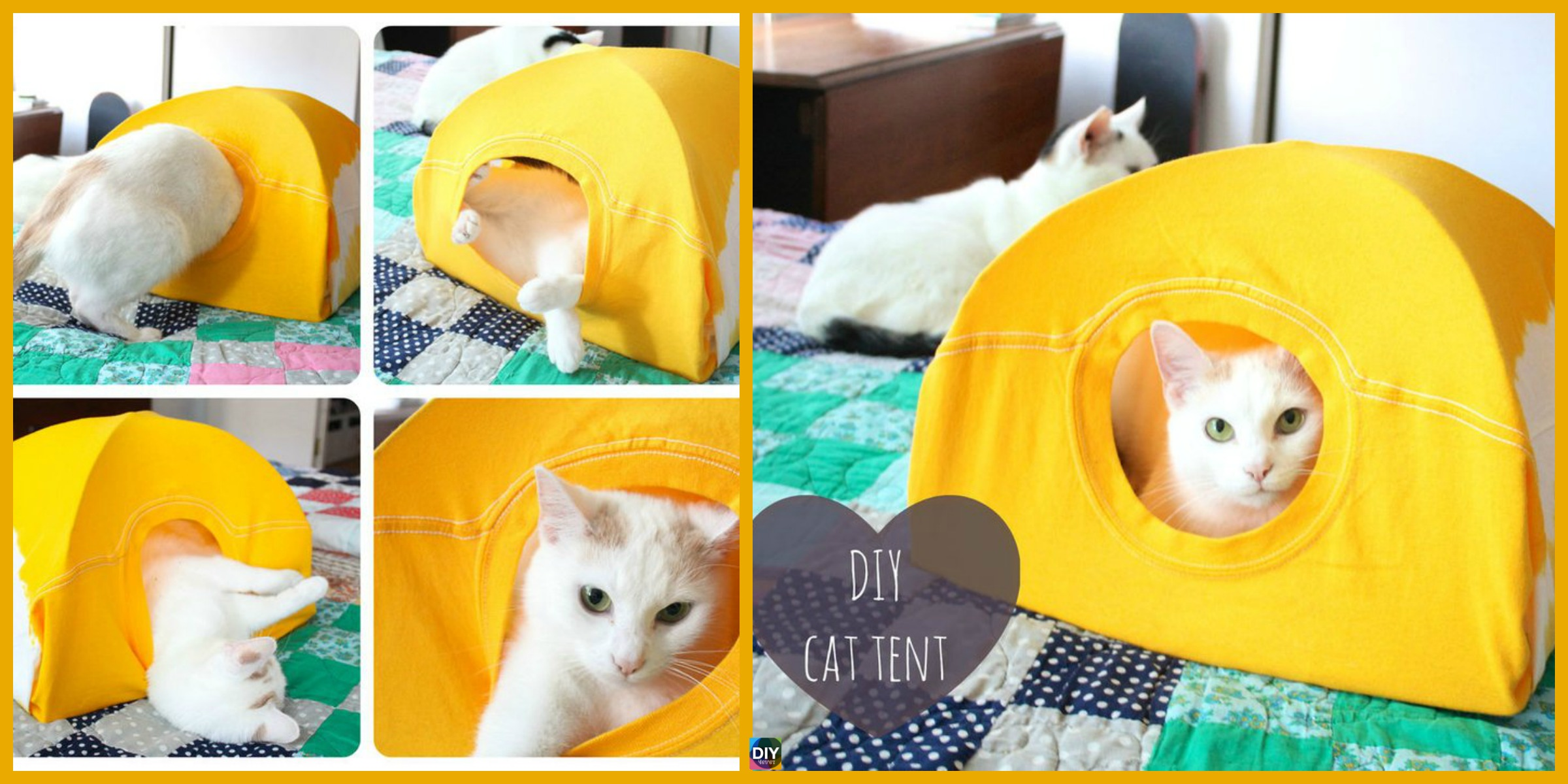 Easy & Cozy DIY Cat Tent – Step by Step Tutorial
