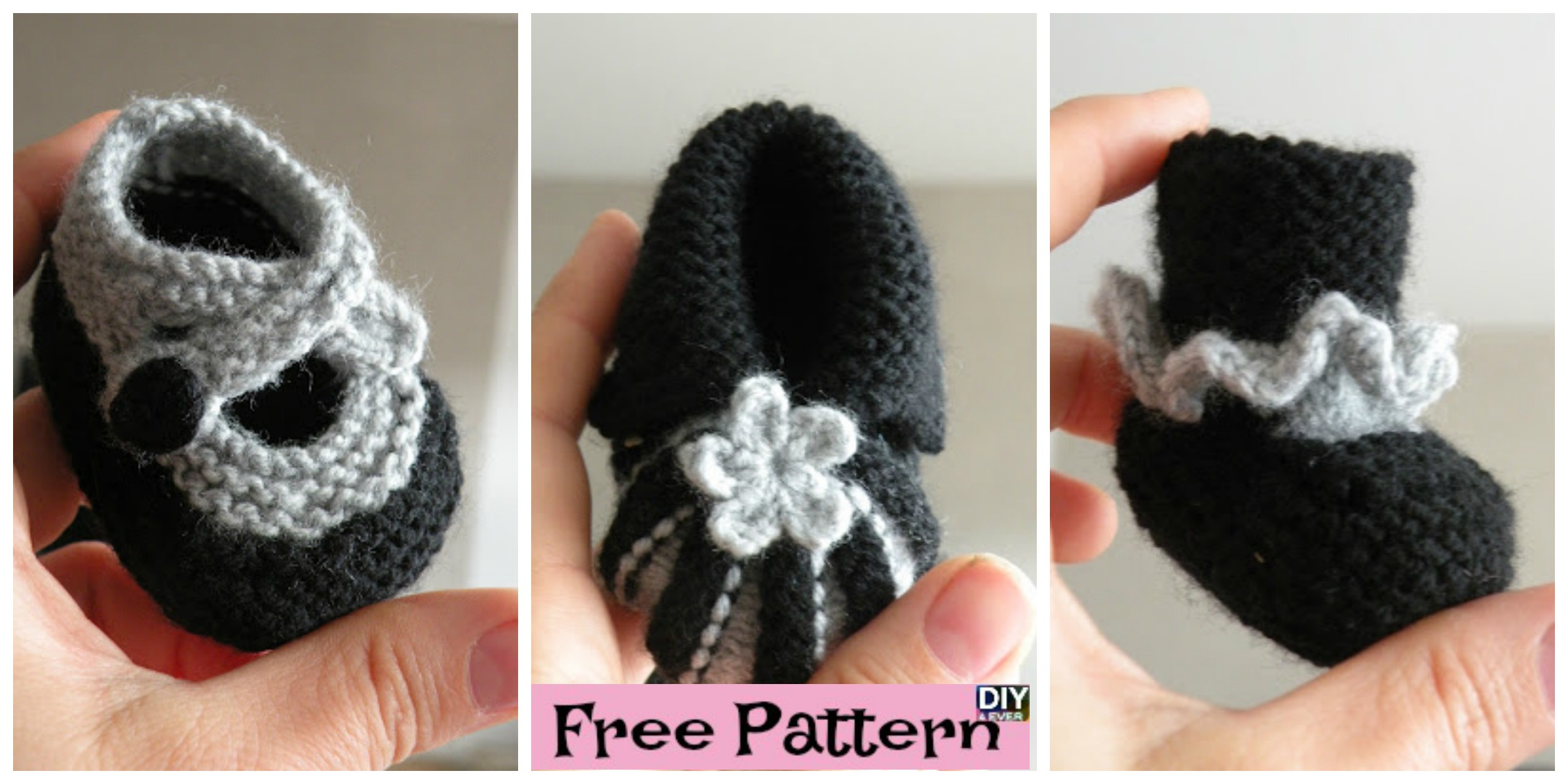 Quick Knit Baby Booties  – Free Pattern