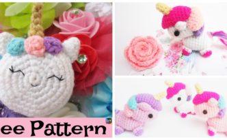 Adorable Crochet Amigurumi Unicorn - Free Pattern