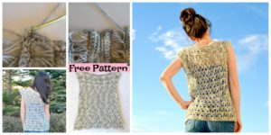DIY4EVER-Broomstick Crocheted Lace Top