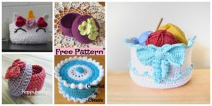 diy4ever- 5 Pretty Crochet Trinket Box - Free Patterns