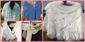 diy4ever-8 Pretty Knitting Lace Shawl Free Patterns